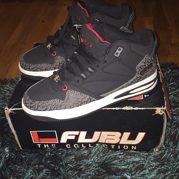 b777451a7272a5 Stylish Fubu sneakers size 7 1 2 men s! New